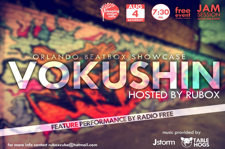 Vokushin: Beatbox Showcase (Orlando)