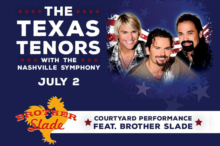 Schermerhorn Symphony Center: Brother Slade (Nashville)